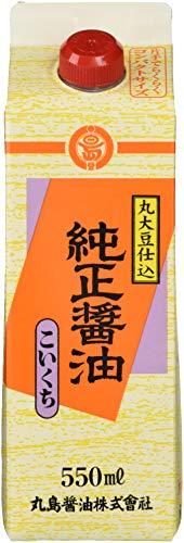 丸島醤油 純正醤油 こいくち 550ml
