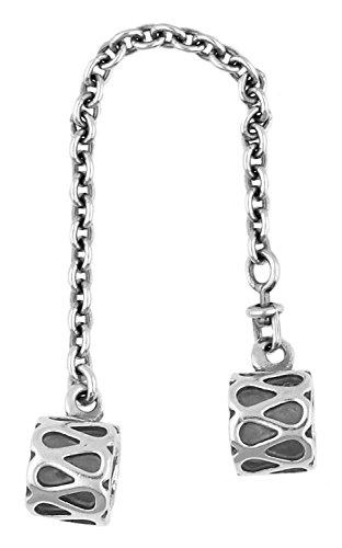 Pandora–Charm 925plata plata rain drops Safety Chain 790315–05