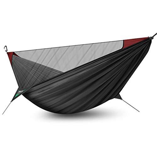 Balançoire Simple Double Portable Portable Hammock Swing Net Cover Camping Camping Chaise suspendu intérieure et extérieure Swing 110.2x55.1 pouces (4 couleurs) Siege Suspendu (Color : D)