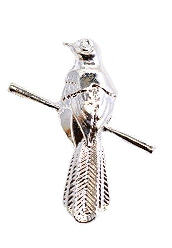 Juego de Tronos Petyr Baelish Littlefinger Mockingbird Tono Plata Brooch Pin de solapa