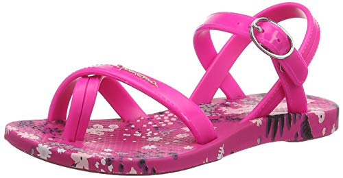 Ipanema Fashion Sand Vi Kids, Sandalias de Talón Abierto para Niñas, (Pink/Pink 8903), 33 EU