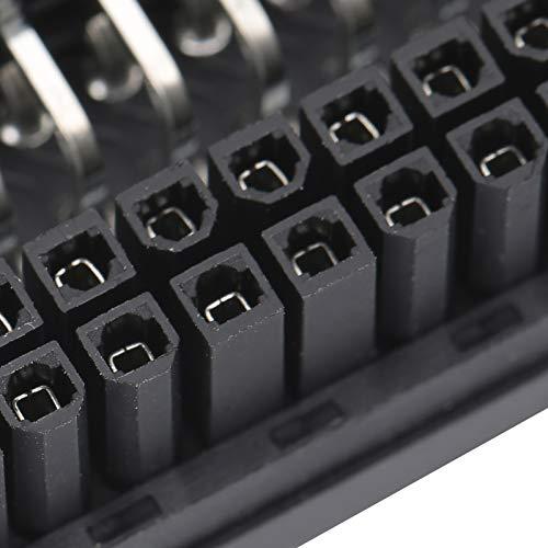 Wosune Adaptador de Corriente de Placa Base de PC, Adaptador de Corriente de Pantalla LED, Seguridad práctica de 90 Grados Duradera para computadora de Escritorio