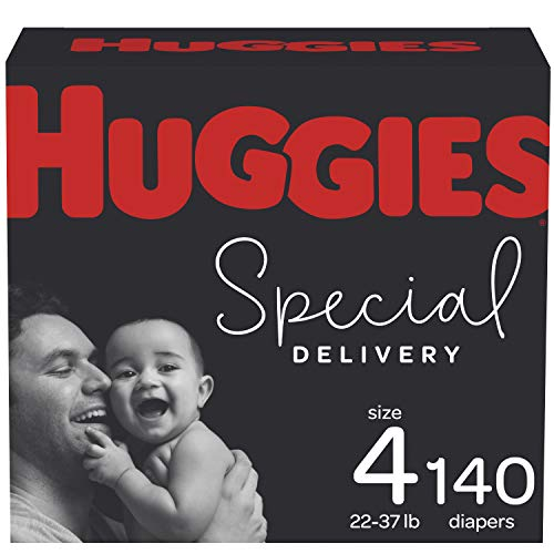 Diapers Size 4 - Huggies Special Delivery Hypoallergenic Disposable Baby Diapers, 140ct,...
