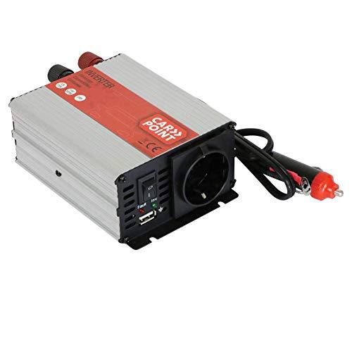 Wechselrichter Spannungswandler Stromwandler Inverter Stromwechsler von 12V auf 220V mit USB Anschluss Auto KFZ Zigarettenanzünder Stecker Strom Konverter Wohnmobil Camping Boot Outdoor Sinusumformer