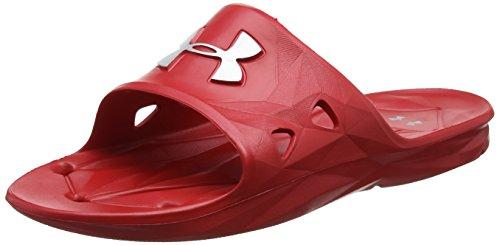 アンダーアーマー ロッカーIII SL サンダル 1287325 メンズ RED MSV 25 cm