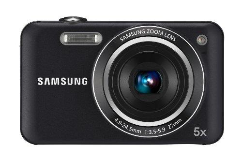 Samsung ES75 Digitalkamera (14 Megapixel, 5-fach opt. Zoom, 6,85 cm (2,7 Zoll) LC-Bildschirm, Bildstabilisator) schwarz