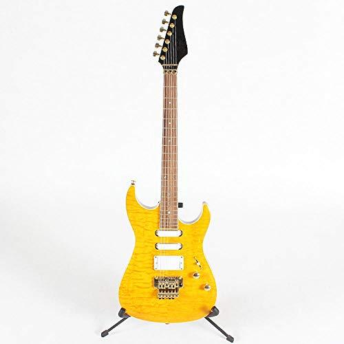 chushi 6 Cuerdas De Guitarra Eléctrica con Hardware De Oro Y Guitarra...