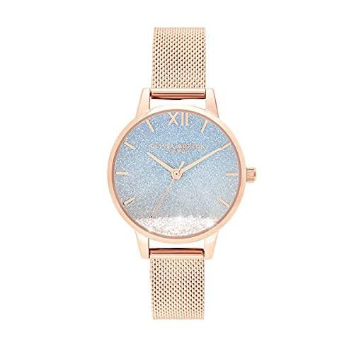 Olivia Burton Damen-Uhren Analog Quarz One Size 87958264