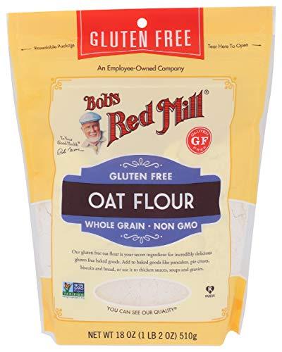 Bob's Red Mill Gluten Free Oat Flour, 18 Ounce