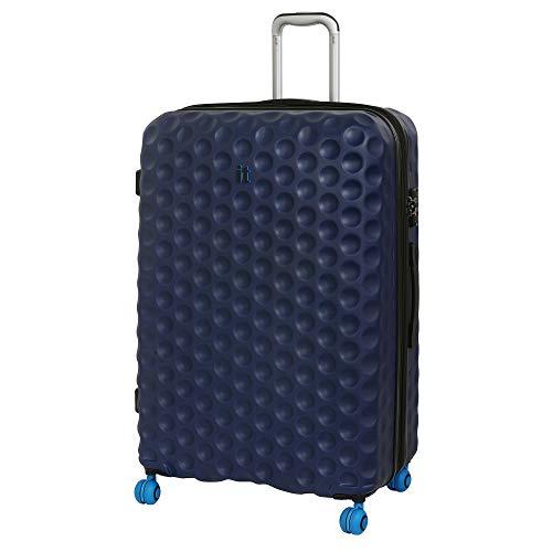 it luggage Bubble-Spin 4 Wheel Hard Shell Single Expander Suitcase Large with TSA Lock Maleta, 79 cm, 159 Liters, Azul (Blue Depths)