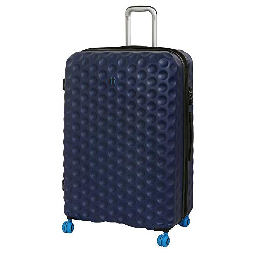 it luggage Bubble-Spin 4 Wheel Hard Shell Single Expander Suitcase Large with TSA Lock Maleta, 79 cm, 159 Liters, Azul (Blue Depths)