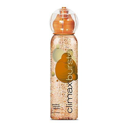 VULCAN Climax Bursts Tingling Lubricant Sex Lube Aphrodisiac-Enhanced Lubricant 4 fl. oz.(118ml) Bottle Liquid Product for Men, Women & Couples