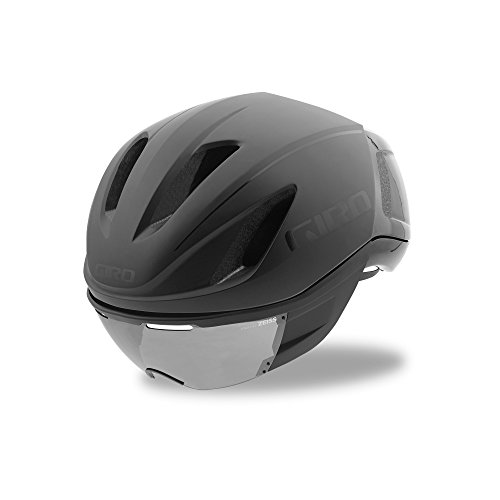 Giro Vanquish MIPS Bike Helmet (Matte Black/Gloss Black, Medium)