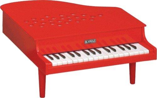 KAWAI カワイミニピアノ P-32 (赤) 32鍵盤 トイピアノ