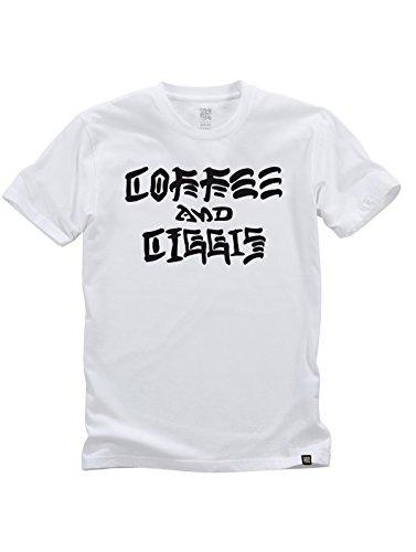 TPDG T-Shirt Coffee & ZIGGIS/White/GR.XL