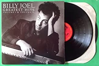 BILLY JOEL greatest Hits Vol I & II DBL LP Vinyl & GF Cov VG+ 1985 C2 40121