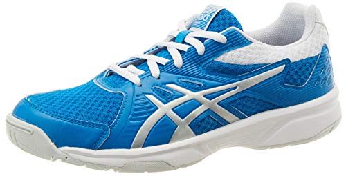 Asics Upcourt 3, Squash Shoe Womens, Directoire Blue/Pure Silver, 39.5 EU