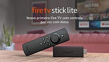 Novo Fire TV Stick Lite com Controle Remoto Lite por Voz com Alexa | Streaming em Full HD | Modelo 2020