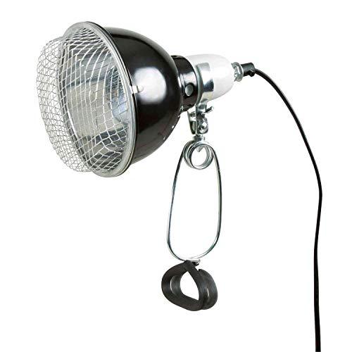 Trixie 76070 Reflektor-Klemmleuchte mit Schutzgitter, 14 x 17 cm - 2
