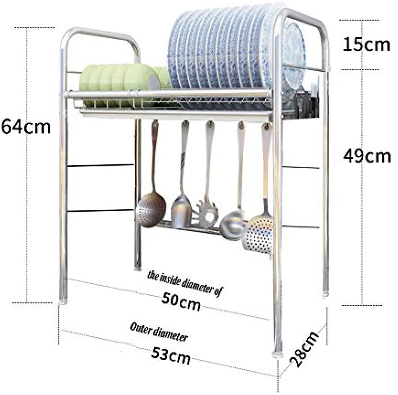 Abtropfgestell für Küchenarbeitsplatte - Verstellbares Abtropfgestell für Spülbecken (einfach doppelt) mit Abtropfwanne