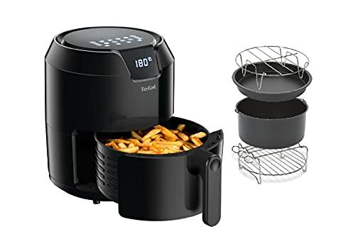 Tefal Easy Fry Precision XL Heißluftfritteuse + Tefal Kuchenform mit vielen Rezeptideen, 1500W, Kapazität von 1,2 KG sowie 4,2 Liter für bis zu 6 Personen, 6 Automatische Programme