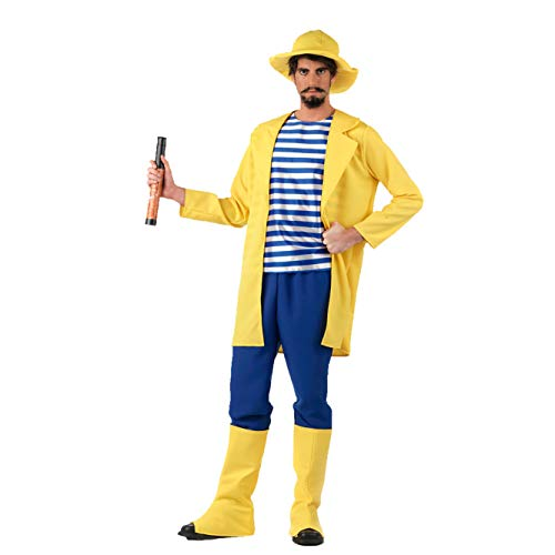 Limit Sport - Disfraz de pescador para adultos, talla L (MA218)