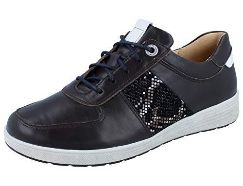 Ganter Sensitiv Klara-k, Zapatos para Profesionales Sanitarios Mujer, Marrón Oscuro, 36 EU