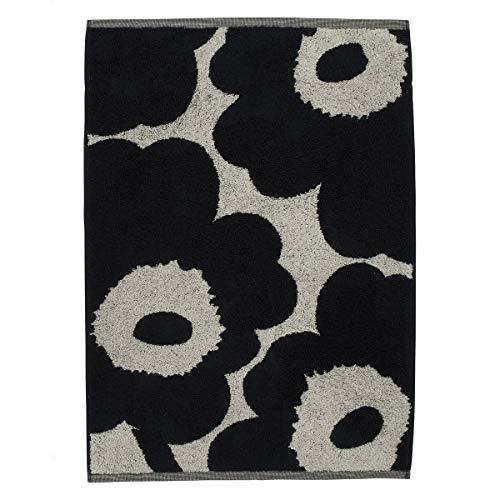 Marimekko - Unikko - Hand Towel - Handtuch - Baumwolle - dunelblau - 50 x 70cm