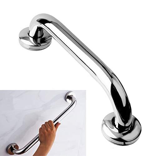 WENBING Badewanne Handlauf, Badezimmer Haltegriff Griff, Dusche Handgriff Dusche Haltegriff Edelstahl Verchromte für Badezimmer, Küche, Treppen,30cm