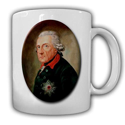 Friedrich der Große Alter Fritz Preußen Kaiser Kurfürst Army Kaffee Tasse #27544