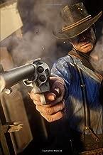 Red Dead Redemption - Gunslinger Revolver: Journal Paper Composition Notebook