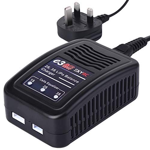 SKYRC e3 AC 2s 3s Lipo Balance Charger 15W 100-240V for 2-3s LiPo Battery...