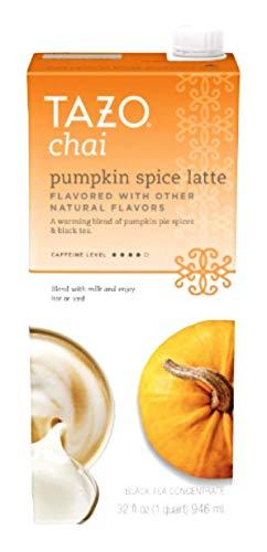 Tazo Latte Chai Pumpkin Spice, 32 oz box, pack of 2