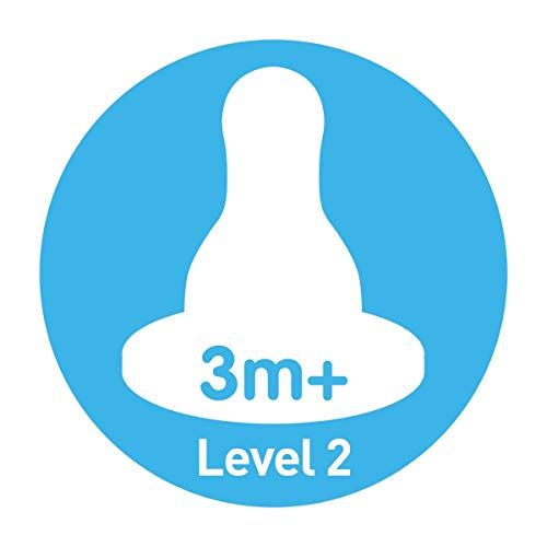 Level 2 Dr 6 Count Browns Standard Replacement Nipple
