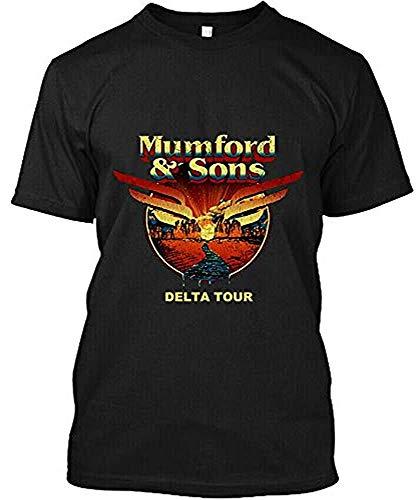 OUR Liu Qiang Mumford And Sons Delta Tour World 2 Side T Shirt Size S-3XL Man Women Komuyr