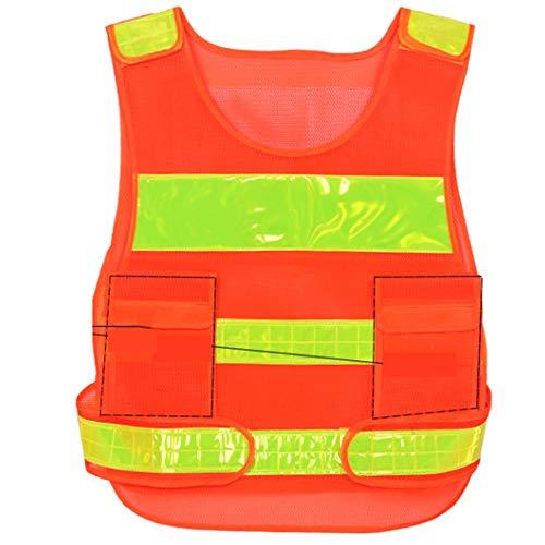 Yaya veiligheidsvest, fluorescerend hoog vest, reflecterend, voor straten, werkkleding, fiets, outdoorsport, reflecterende veiligheidskleding