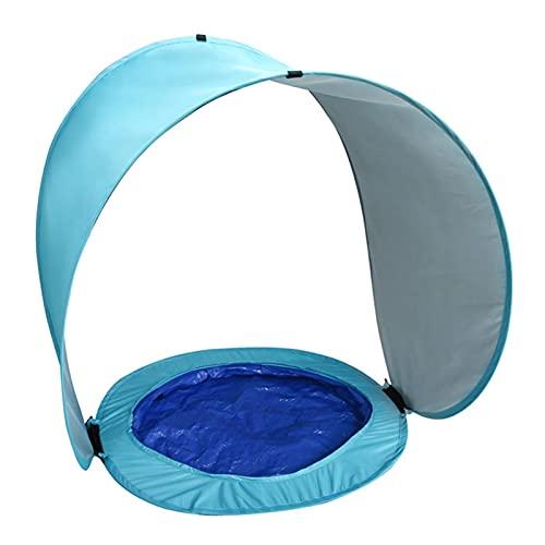 Carpa para Piscina de Playa para niños al Aire Libre con Clavos en el Suelo Carpa de Playa con toldo para Juegos con Carpa de protección Solar portátil