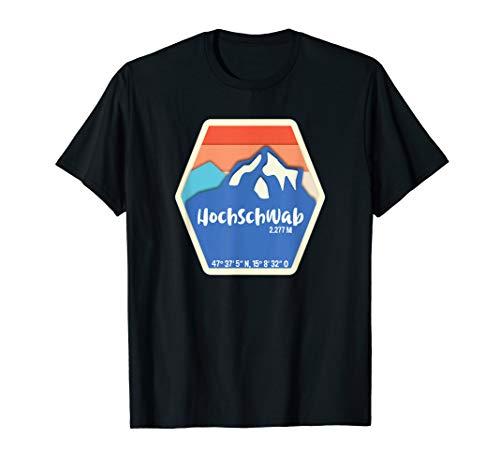 Hochschwab - Höhe und Koordinaten T-Shirt