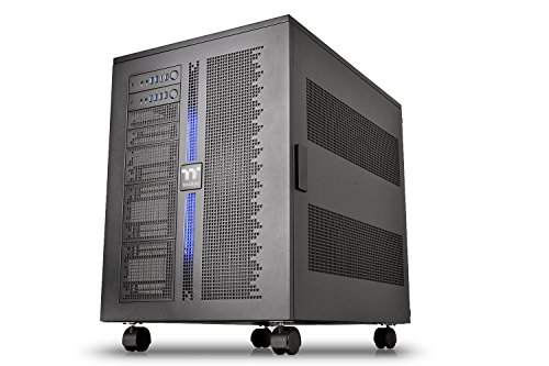 Thermaltake Core W200 Dual System Capable Extreme Water Cooling XL-ATX Fully Modular/Dismantle Stackable Tt Certified Super Tower Computer Case CA-1F5-00F1WN-00 Black