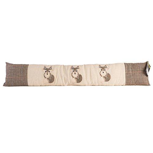 iN Burlete con diseño de animales para el hogar (patrón de zorro)