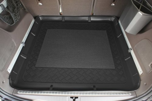 Kofferraumwanne mit Anti-Rutsch passend für Opel Zafira C Tourer 01/2012- 5/7-Sitzer, 3. Reihe umgelegt
