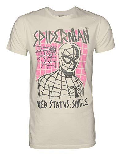 Hommes - Junk Food Clothing - Spider-Man - T-Shirt (L)