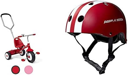 Radio Flyer Deluxe Steer Stroll Trike Helmet product image
