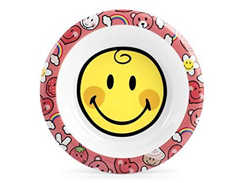 Lulabi Smiley Girl Suppenteller Melamin, Cm21-400 g