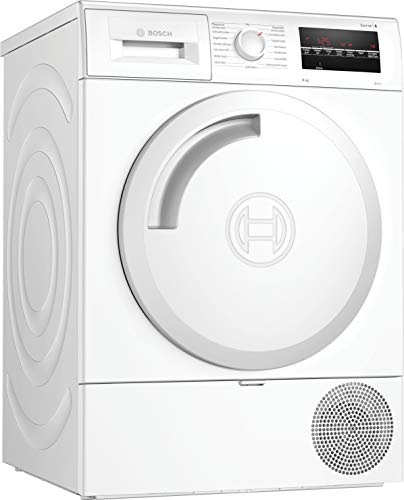 Bosch WTR854A8 Serie 6 Wärmepumpen-Trockner / A+++ / 176 kWh/Jahr / 8 kg / Weiß / AutoDry / EasyClean Filter / AntiVibration™ Design