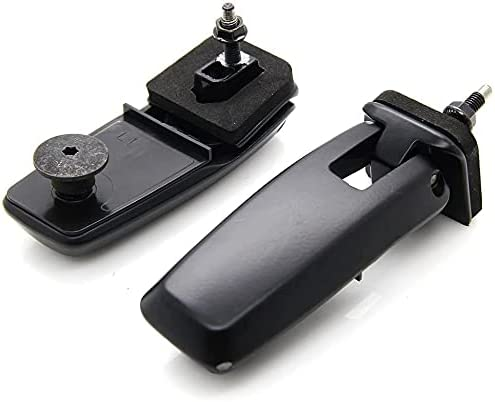 Loovey Rear Window Hinge Liftgate Glass Hinge Set Compatible for
