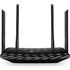 JD Power Award ---Highest in customer satisfaction for wireless routers 2017 and 2019 Dual band router upgrades to 1200 Mbps high speed internet (300mbps for 2.4GHz + 900Mbps for 5GHz), reducing buffering and ideal for 4K stream Gigabit Router with 4...