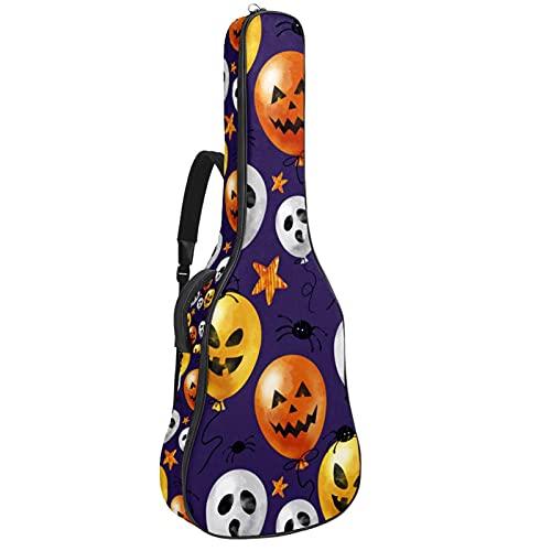 Bolsa para guitarra con diseño de globo de Halloween, funda de transporte...