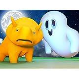 【ハロウィン】ハロウィンの幽霊/フェイスペイントをしながら色の混ぜ方をまなぼう/かぼちゃを使って形を学ぼう!/死者の日-フェイスペイントで色を学ぼう!