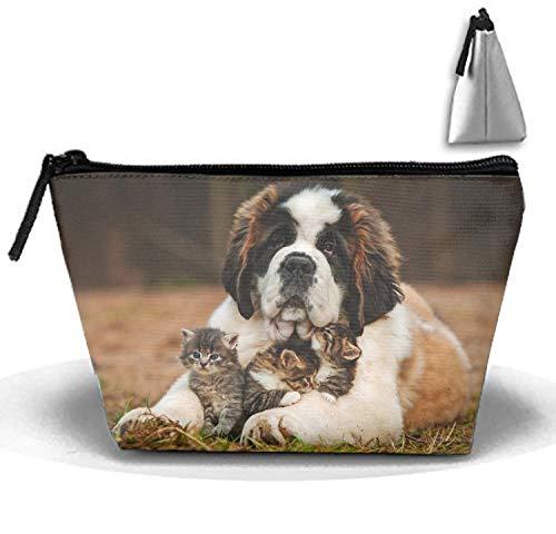 Petit sac à main multifonction pour cosmétiques (Golden Retriever Puppy)